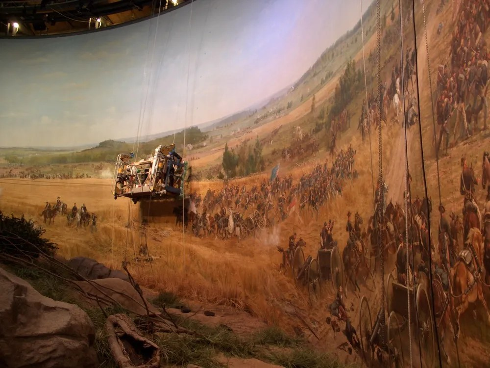 The Restoration of the Gettysburg Cyclorama
