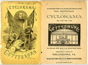 The Battle of Gettysburg Cyclorama in Philadelphia