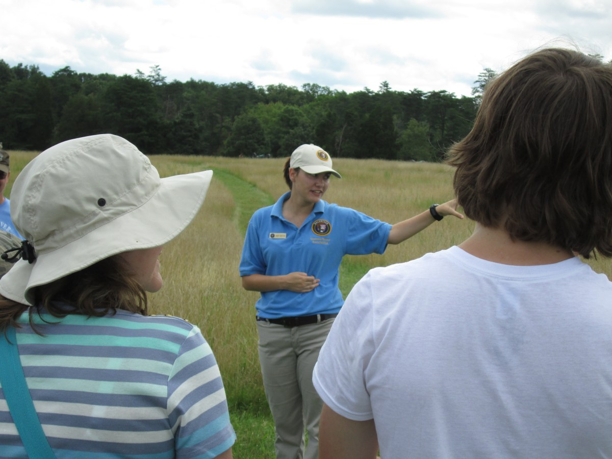 Telling their Stories: My Memorable Summer Internship at  Manassas National Battlefield Park