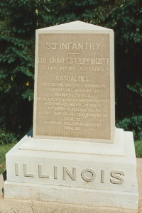 """""""Wrecked cars and suffering humanity"""": The Fortunes of the 33rd Illinois"""