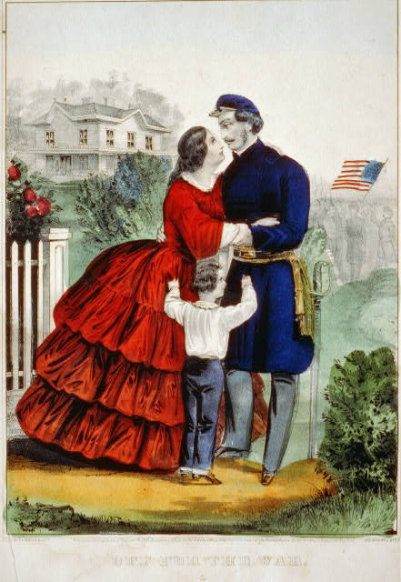 For Those at Home: The Romantic Nature of Civil War Lithography