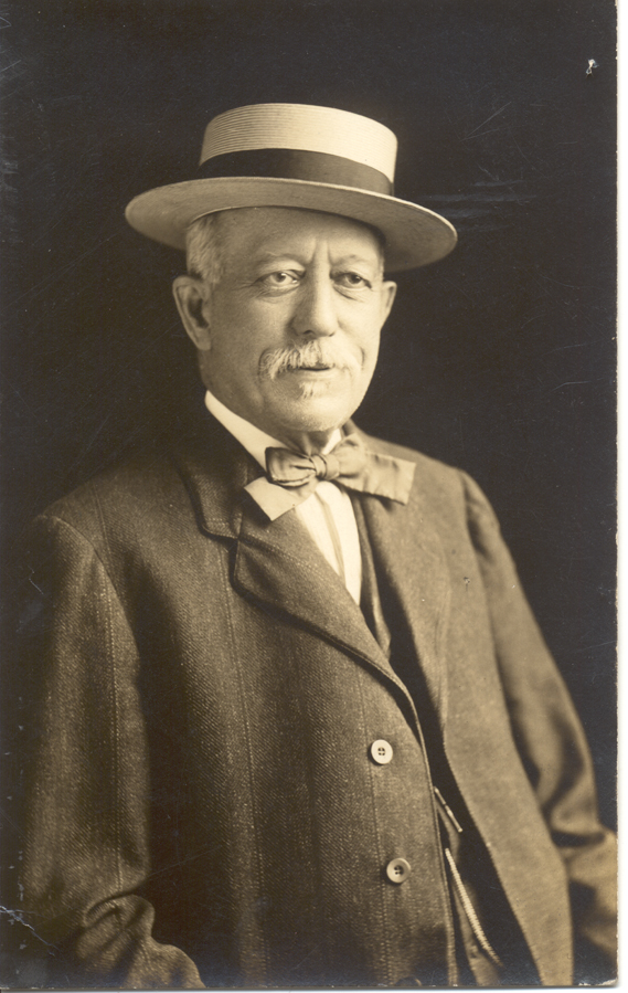 4D990126.5 William H. Lebkicher, 1900 Courtesy of Hershey Community Archives, Hershey, PA
