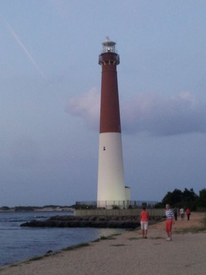 Barnegat Lighthouse. Image courtesy of Susan Kirk.