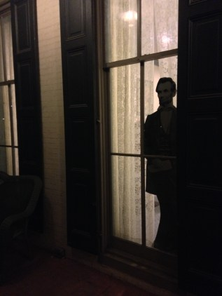 This photo serves as an homage to the flimsy inspirations for many Gettysburg ghost tours. Photo credit Kevin Lavery.