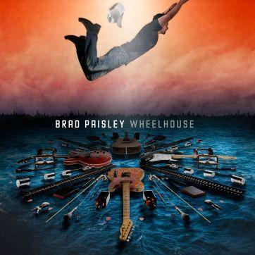 Brad Paisley's 2013 album Wheelhouse. bradpaisley.com
