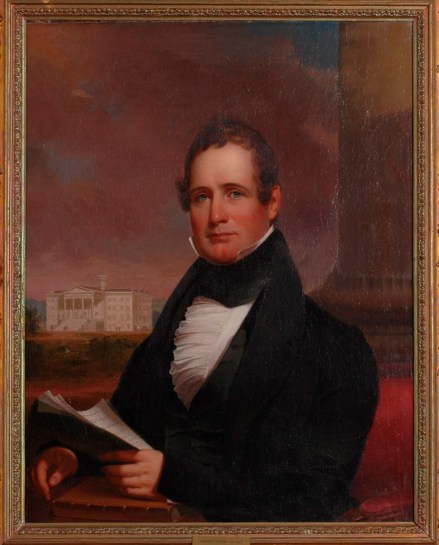 Portrait of Thaddeus Stevens by Jacob Eichholtz, 1838. Courtesy of Special Collections and College Archives/Musselman Library, Gettysburg College.
