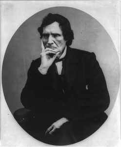 Where is the love for Thaddeus Stevens? M. P. Price. Portrait of Thaddeus Stevens, 1792-1868. Published in 1898. Library of Congress.
