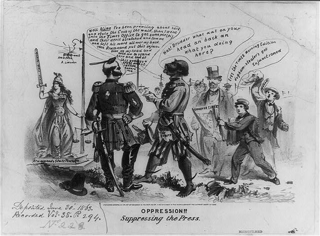 """""""A Foe as Dangerous as Armed Rebels"""": A Review of Harold Holzer's """"Abraham Lincoln and the Power of the Press"""""""
