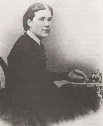 My queen Sarah Edmonds, alias Frank Thompson, of the Second Michigan Volunteer Infantry. Photo via nps.gov
