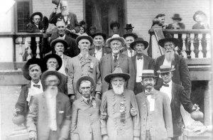 Confederate veterans reunion, Little Rock, AR, 1911. Image courtesy of the Encyclopedia of Arkansas.