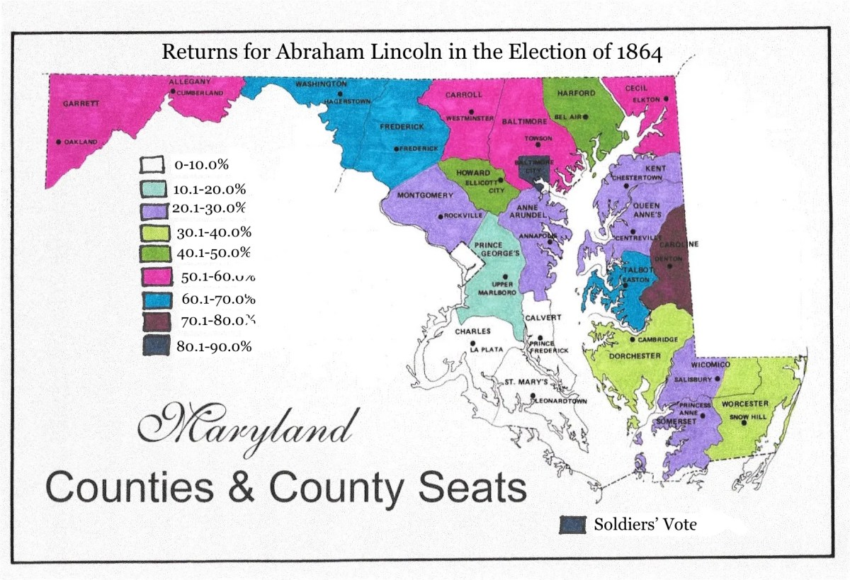 """The Union Forever"": Frederick, Maryland in the Elections of 1860 and 1864"