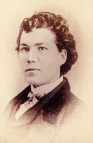 Sarah Emma Edmonds, alias Franklin Thompson, served as a soldier, nurse, and spy in the 2nd Michigan Infantry. Photo via Wikimedia Commons.