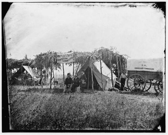 USCC headquarters in Germantown, VA. Photo via Library of Congress.