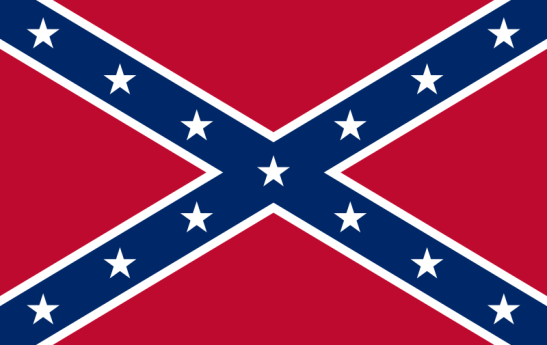 William Porcher Miles' Confederate flag design became inextricably linked to fighting. Photo via Wikimedia Commons.