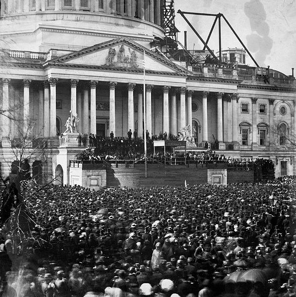 Lincoln Inauguration 1861