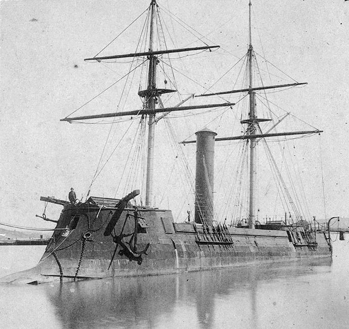 King Cotton and the Rising Sun: The Japanese Navy's Confederate Ironclad