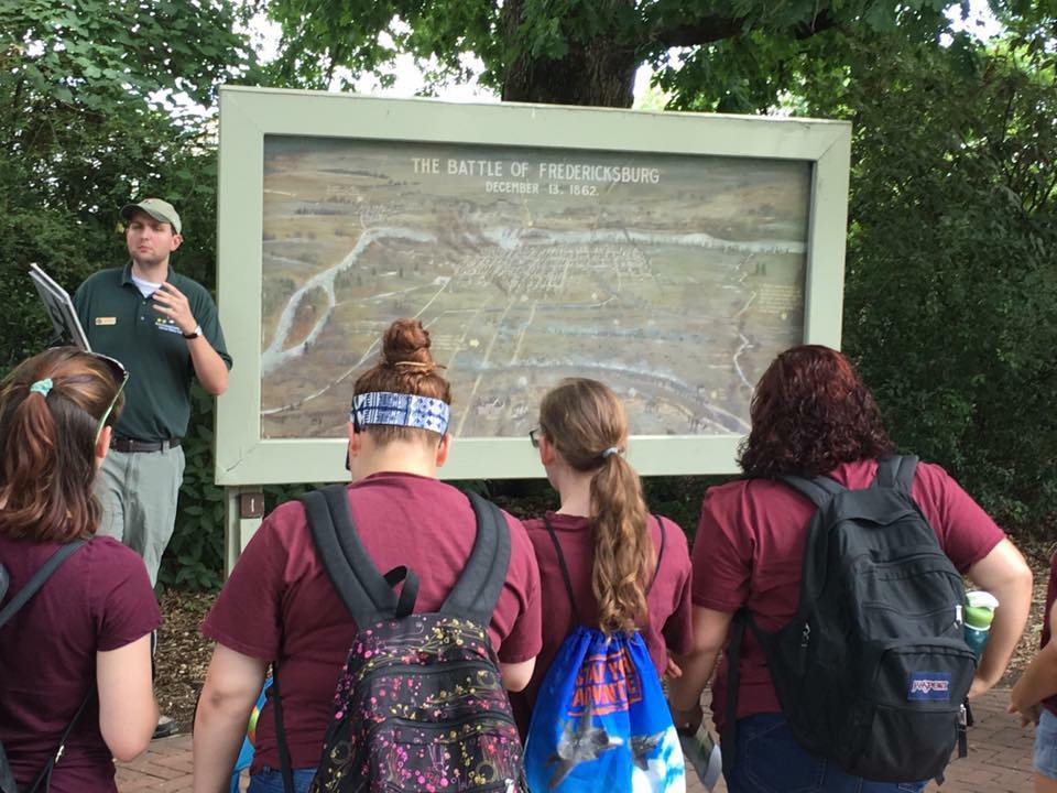 Revisiting Fredericksburg:  Using Provocation to Explore New Questions