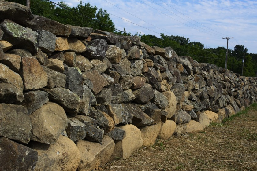 Aughinbaugh stone wall