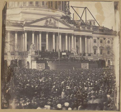 Lincoln Inauguration LOC