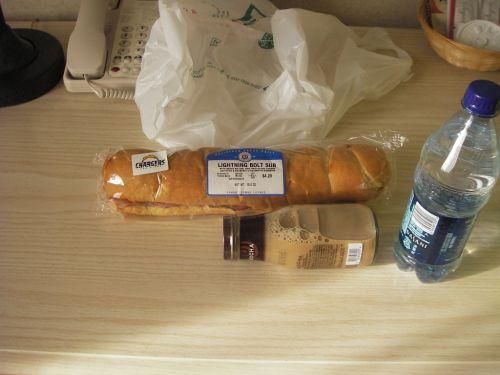 バケット風サンドイッチ