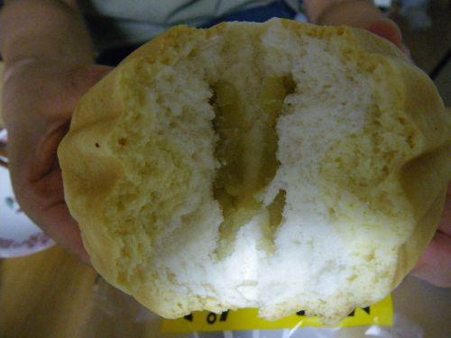 オイシスのメロンパンの中身