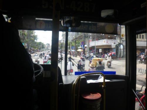 バスの中から