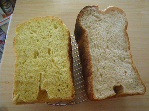 にんじんパンと黒糖パン