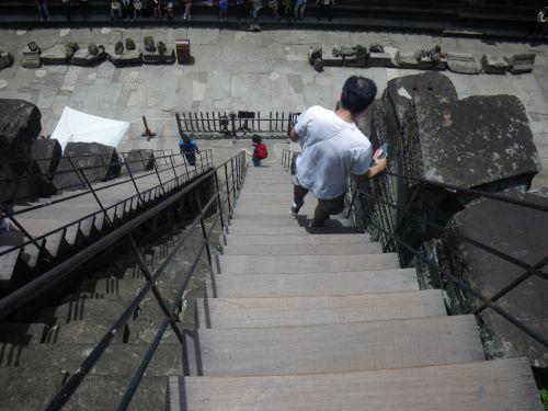 第三回廊からの降り口