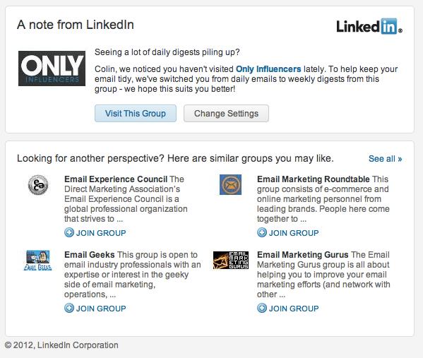 LinkedIn auto unsubscribe