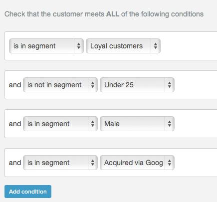 Combine email segments