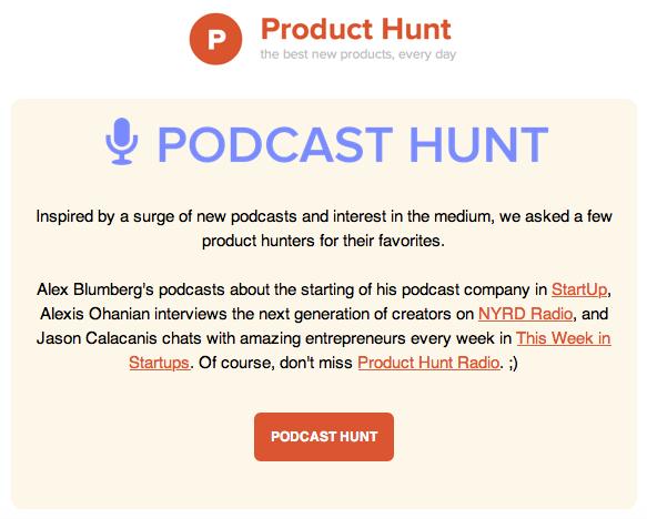 podcast hunt
