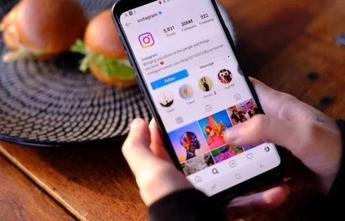 Instagram accounts for others/businesses/brands