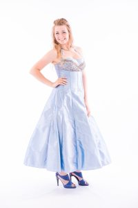 Ice Blue Prom Dress