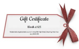 Gift Certificate £125