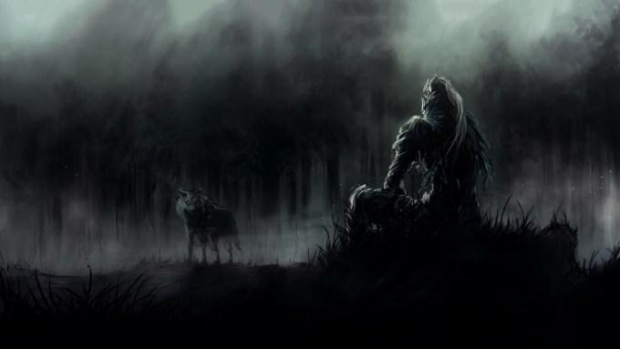 Dark Wolf Wallpaper 63 Images