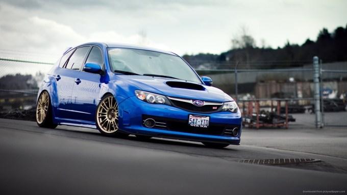 Subaru Wrx Sti Hatchback Wallpaper Hd Wallpaper Stock