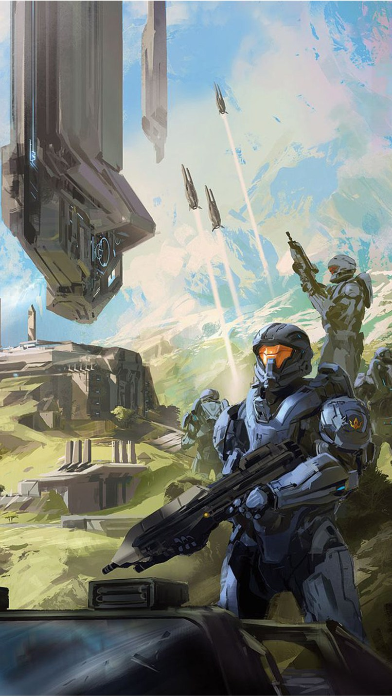 Halo Wallpaper Hd Iphone 6 Babangrichie Org