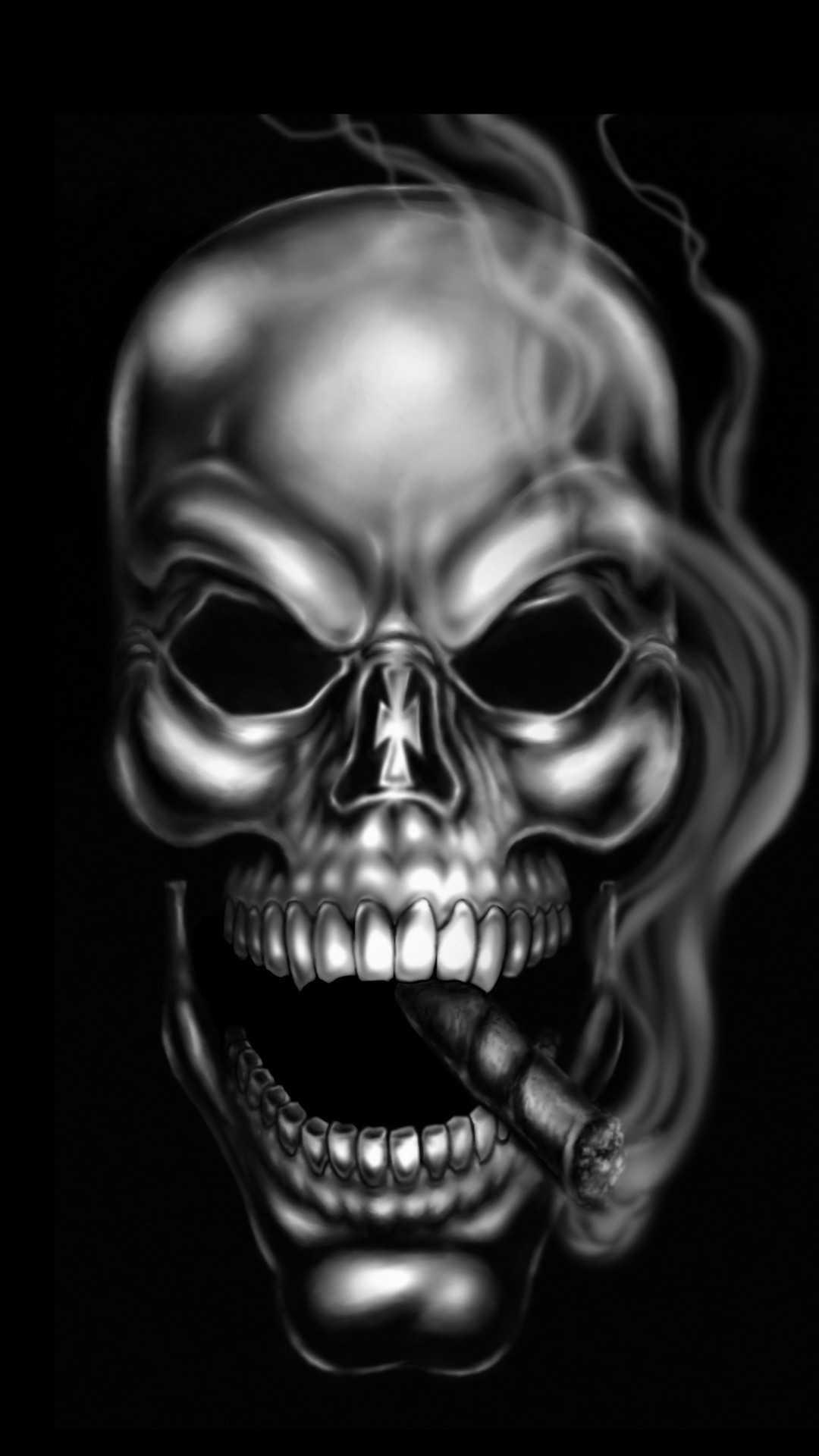 Skull Wallpaper for iPhone  67  images  1080x1920 Wallpaper 257636