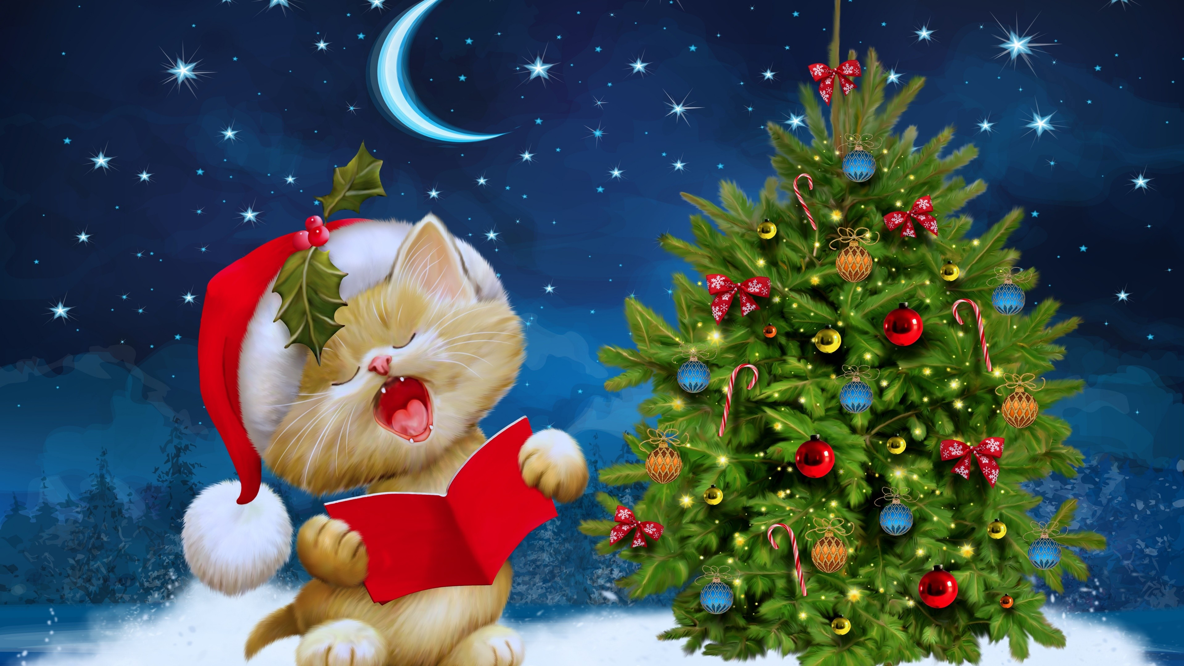 Hello Kitty Christmas Wallpapers 41 Images