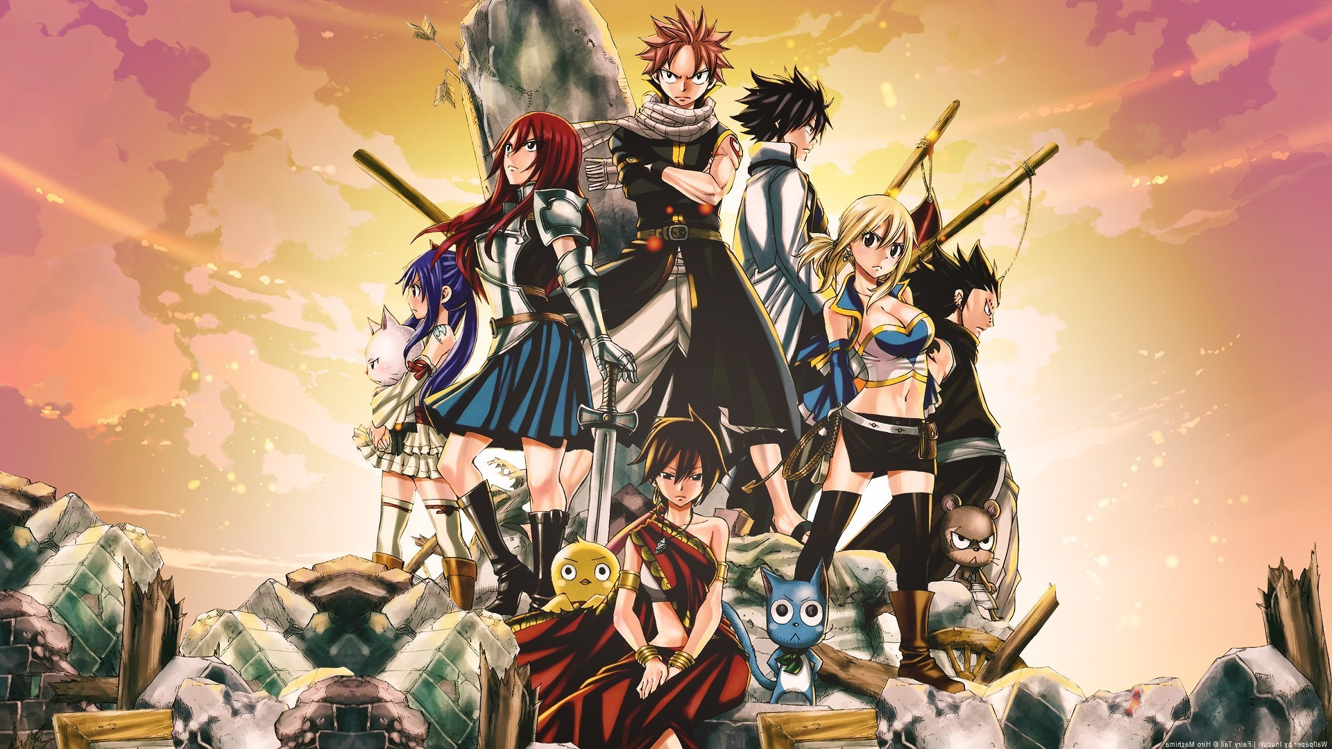 Fairy Tail Anime Wallpaper For Android   Wallpapersimages org Fairy Tale Backgrounds 62 Images
