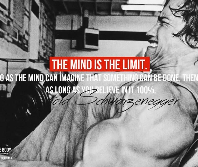 X Arnold Schwarzenegger Motivational Wallpaper