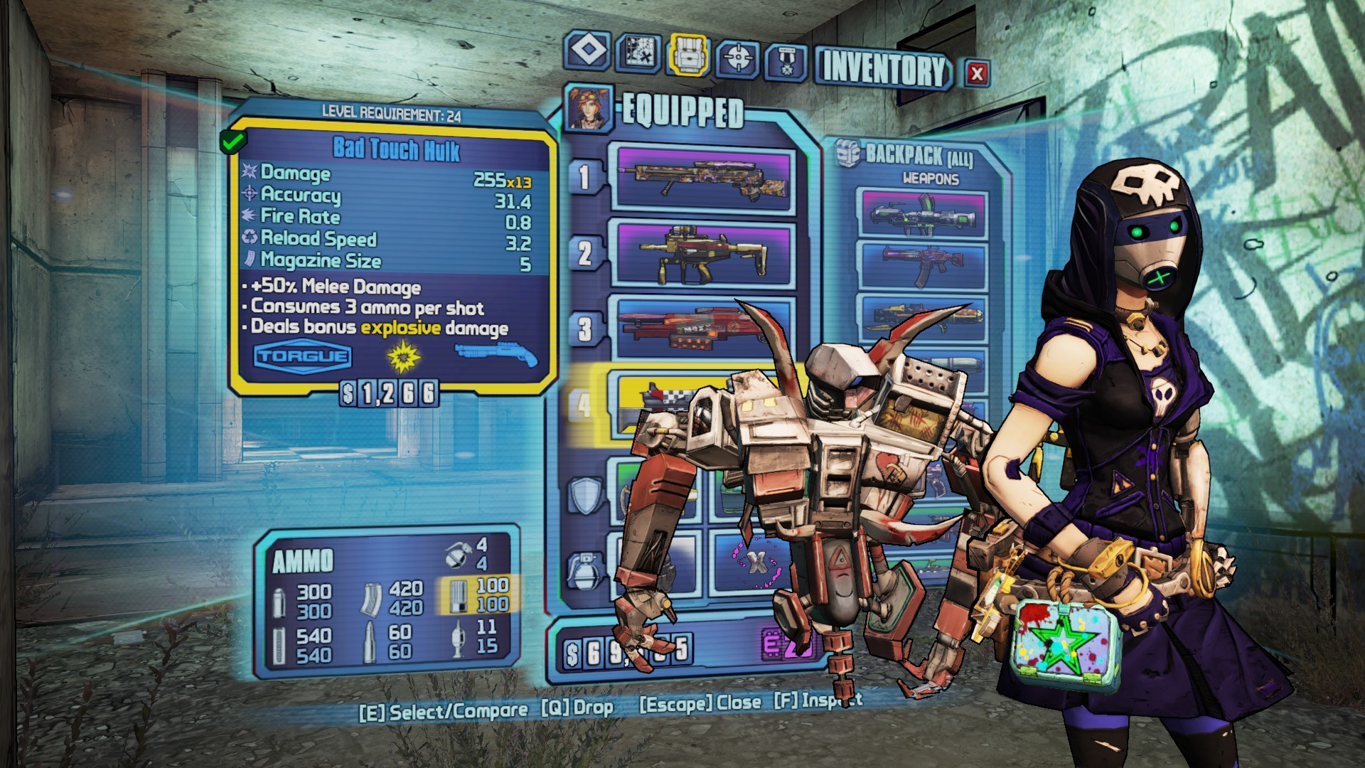 Borderlands 2 72 Build Mechromancer