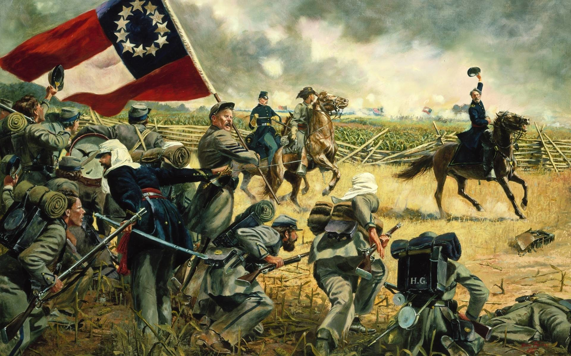American Civil War Wallpaper 65 Images