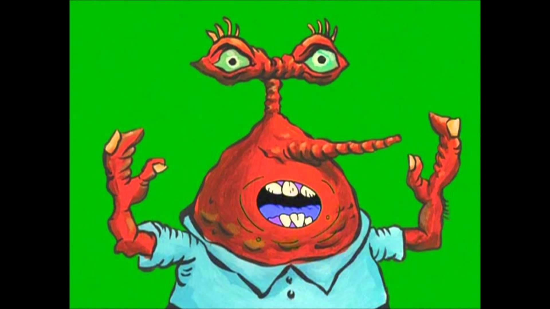Spongebob Mr Krabs Pizza