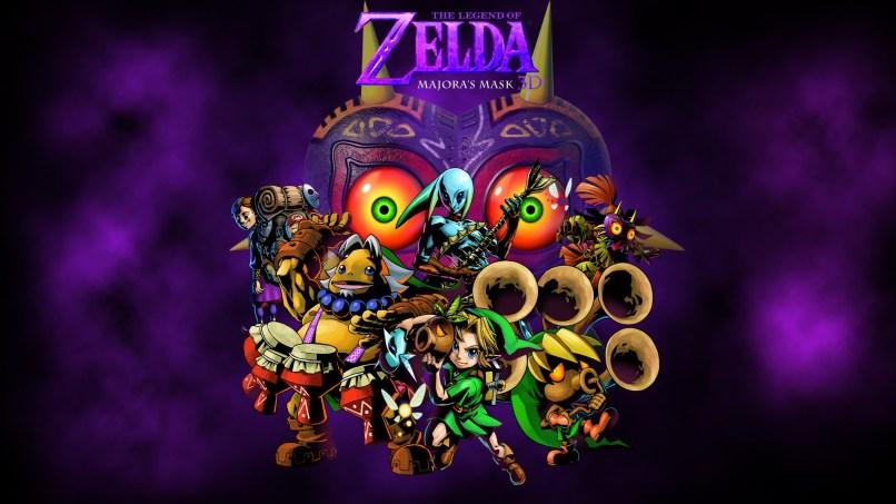 Legend Of Zelda Majora S Mask Wallpaper Iphone Djiwallpaper Co