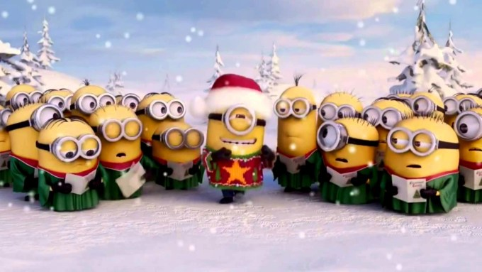 minion christmas wallpaper free christmaswalls co - Minion Christmas Wallpaper