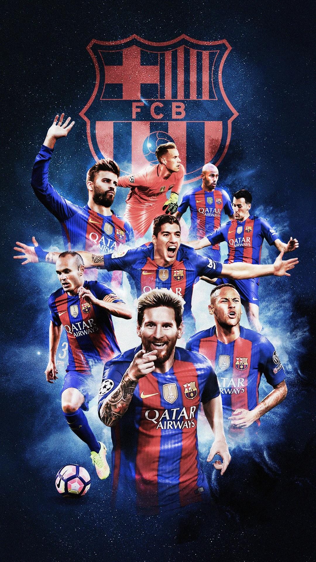 Fc Barcelona Players Wallpaper 2018
