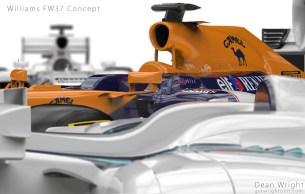 Williams FW37 concepts promo shot