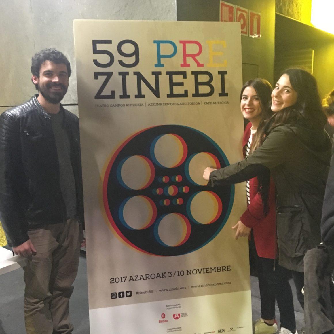 El equipo de GetxoExpress asiste a las proyecciones de Zinebiexpress 2017.