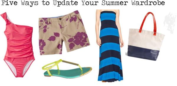Wardrobe Update   Five Summer Essentials